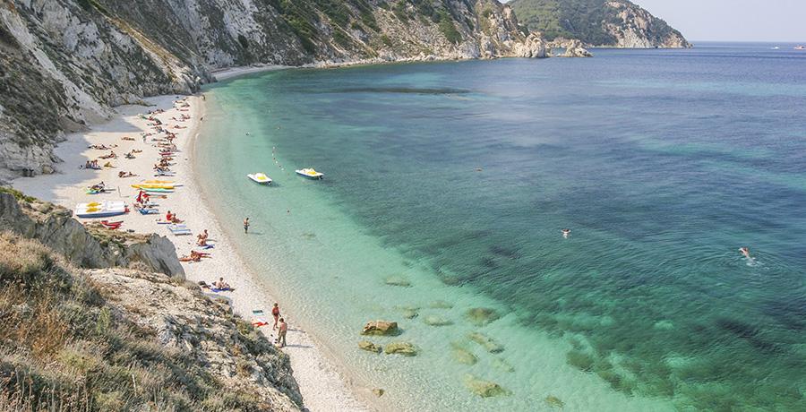 panoramica spiaggia sansone