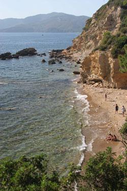 spiaggia Peducelli capoliveri isola Elba