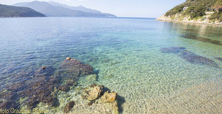 trasparenze mare spiaggia di forno