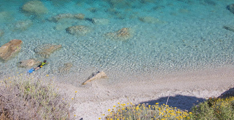 isola d'Elba spiagge Sansone